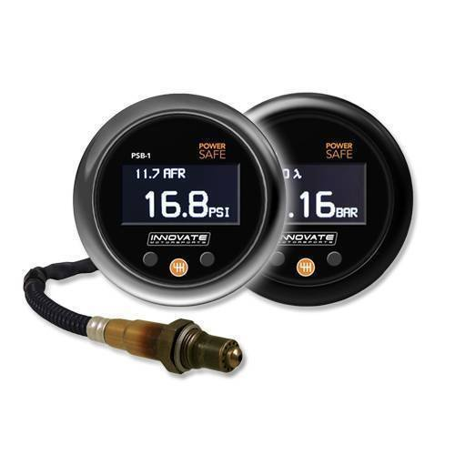 Innovate Motorsports 3892 PSB-1 Boost/Wideband Oxygen Gauge Kit