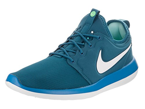 Running Roshe Shoe NIKE Blue Men's White Two wUnAp