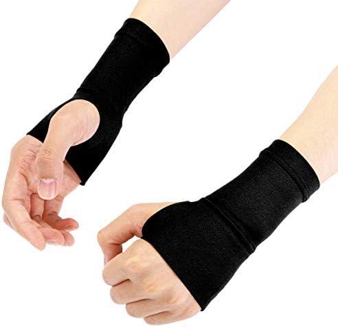 Supvox kompression handgelenk hülse handgelenk und daumen unterstützung arthritis handgelenkstütze -m (schwarz)
