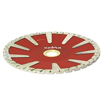 "5"" Granite Diamond Contour Blade -Turbo 7/8"" ..."
