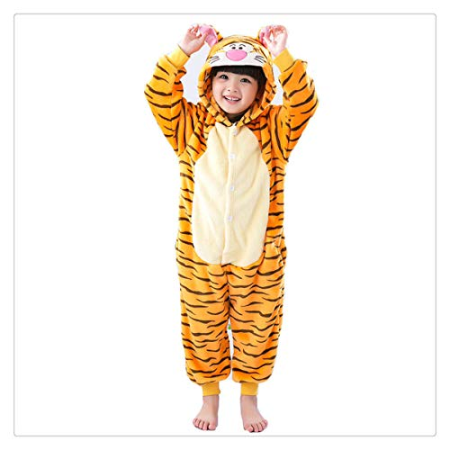 Rainbow Star Unicorn Pajamas Kids Animal Flannel Anime Cartoon Costumes Sleepwear Cosplay Onesie Panda Christmas Tigger -
