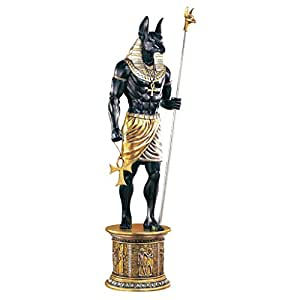 Design Toscano The Grand Ruler Life-Size Anubis Sculpture
