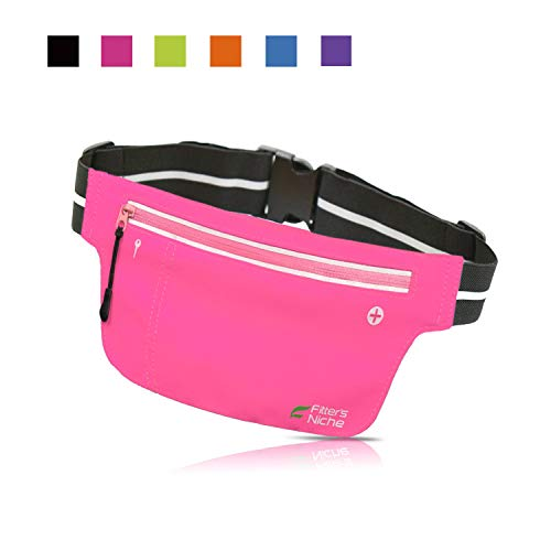fitter's niche Ultra Slim Fanny Waist Packs Running Belt for