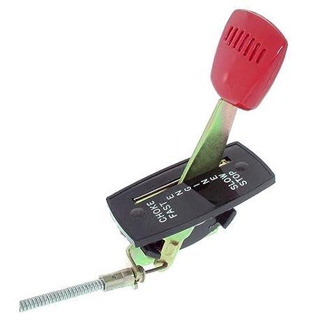 Palanca del acelerador para cortacésped (Snapper con motor Robin ...