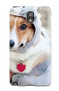 Perfect Dog Ready For The Cold Case Cover Skin For Galaxy Note 3 Phone Case