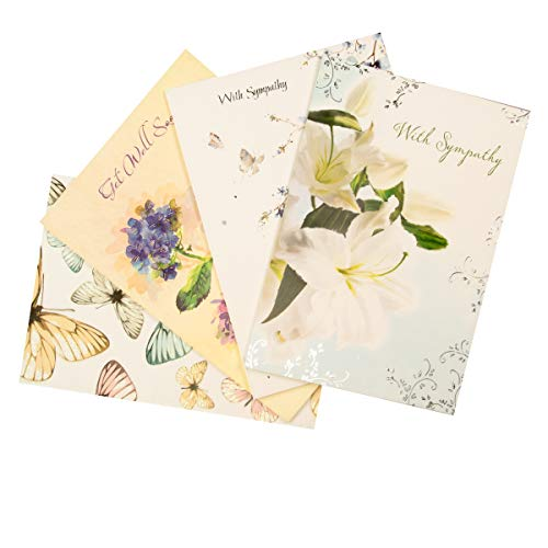 Designer Greetings All Occasion Greeting Card Assortment in A Keepsake Floral Design Organizer - 711-00009-000