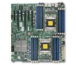 Supermicro X9DRI-F-O LGA2011/ Intel C602/ DDR3/ SATA3/ V&2GbE/ EATX Server Motherboard ()