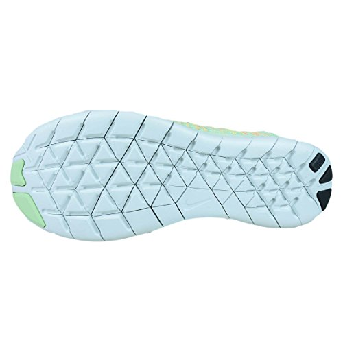 Nike Womens Free Rn Flyknit 2017 Running Shoe Vapor Verde / Nero-luminoso Mango