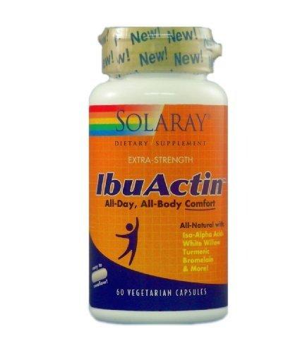 Solaray - IbuActin - 60 capsules végétariennes