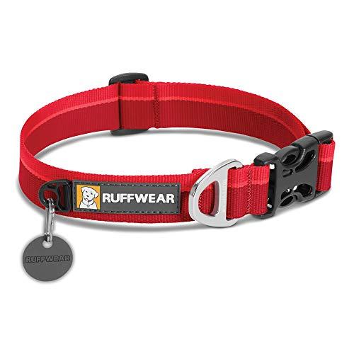 RUFFWEAR - Hoopie Dog Collar, Webbing Collar for Walking and Everyday Use