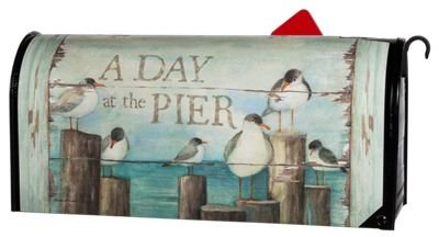 MailWraps Bay Pier Mailbox Cover #04093