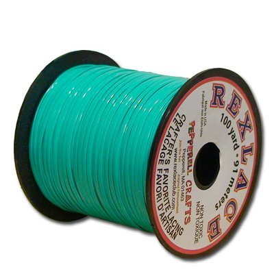 Springfield Leather Company's Rexlace Turquoise Plastic Lace