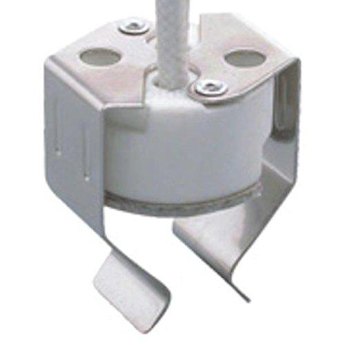 Mitronix 00632 - 100 watt 250 volt Miniature Bi-Pin Base MR16 Socket W/Clip (G6-R32)