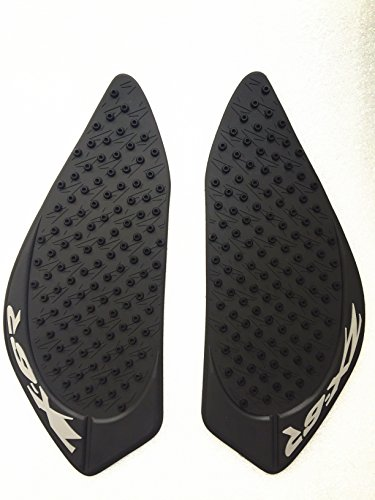 - 3D Black Dots Gas Fuel Tank Traction Pad Anti Side Slip Protector For Kawasaki ZX6R 2009-2012