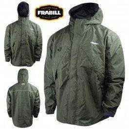 Frabill F1 Rain Suit Jacket, Dark Forest Green, Small