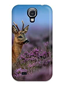 Excellent Design Deer Case Cover For Galaxy S4