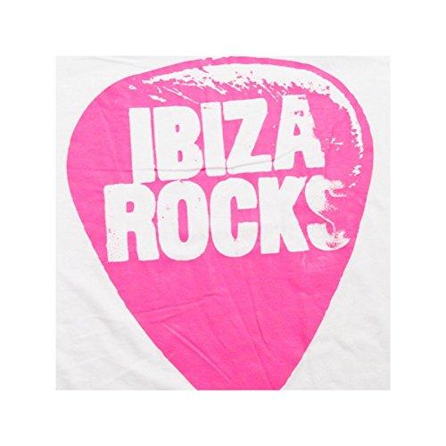Camiseta Rocks Blanco De Plectro Tirantes Ibiza nZwf64qx