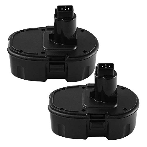 18V 3.6Ah Replace Battery for Dewalt DC9096 DC9099 High Capacity Cordless Drill (2Packs)