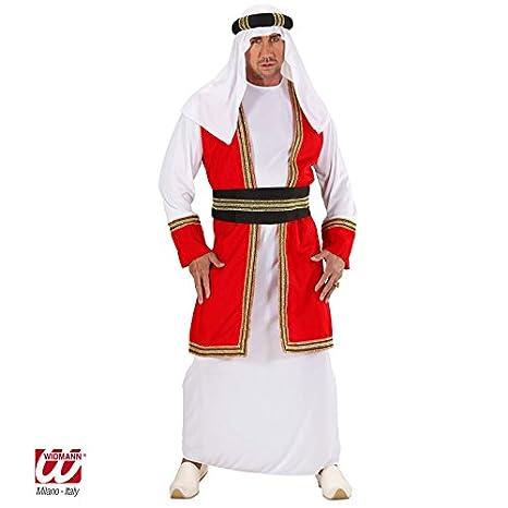 Widmann - cs922623/M - Disfraz príncipe árabe talla M , Modelos ...