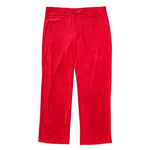 Stretch Velour Pants - 4