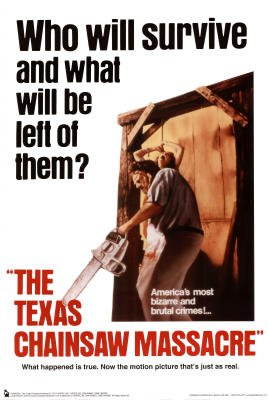 Texas Chainsaw Massacre (Who Will Survive) Movie Poster - 24x36 Movie Poster Print, 24x36
