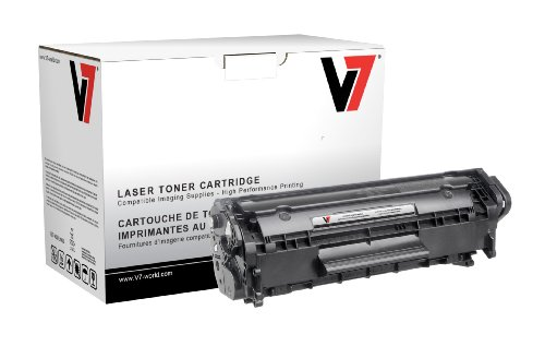 V7 Technology HP Q2612A Black Toner by V7 for HP Laserjet...