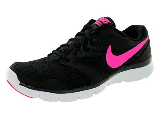 Nike Women's Flex Experience Rn 3 Black/Pink Pow/Clssc Chrcl/Wht Running Shoe 8 Women US