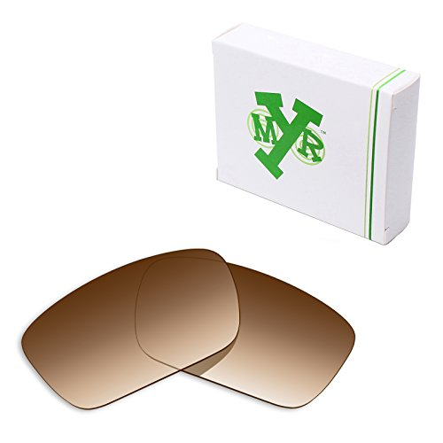 Mryok Polarized Replacement Lenses for Oakley Fuel Cell - Brown Gradient - Tint Gradient Sunglasses