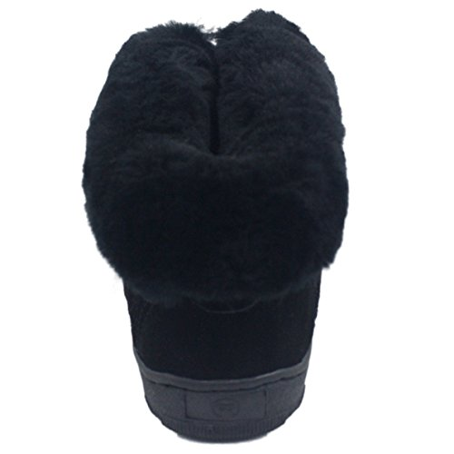 Danko Bootie Sheepskin Women's Slipper Black Signature KOS FvqxEfHwq
