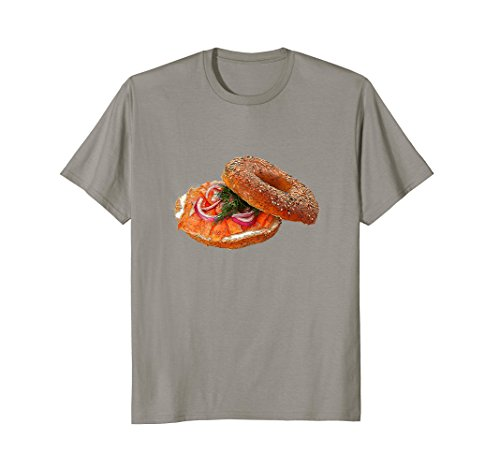Fun Color Bagel With Lox Food T-Shirt