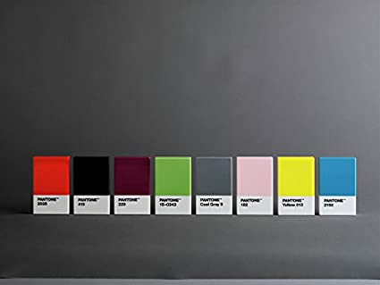 Pantone 108000009/Tarjeta de Bolsillo pl/ástico Gris fr/ío 9/C 6/x 9,50/x 1,10/cm