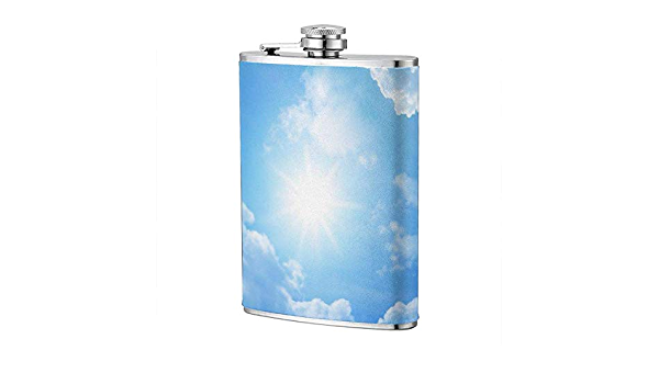 Blue Sky Hip Flask Acero inoxidable Flagon 8 Oz Wine Pot para ...