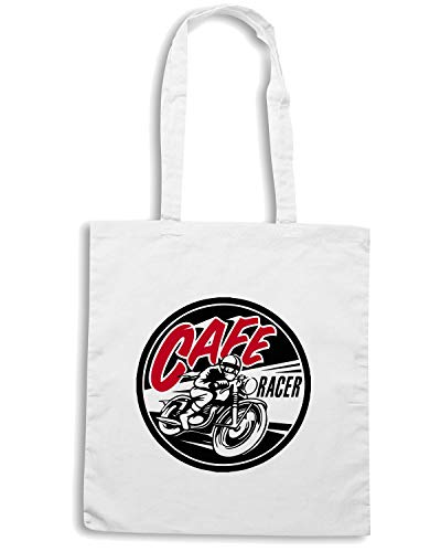 Borsa Shopper Bianca TB0233 CAFE RACER