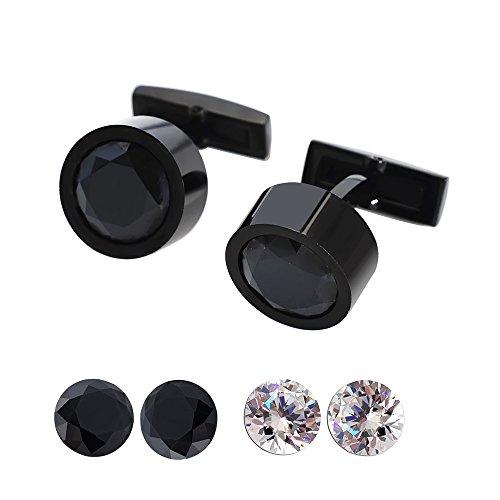 Diamond Cut Cufflinks - 5