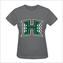 SANMU Women s University Of Hawaii Uh Hawaii Warriors Logo T-shirt Apparel 613761cb9