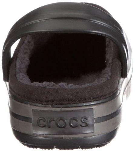 Crocband Pantoletten Erwachsene Black crocs amp; Mammoth Unisex Clogs 11126 Graphite Schwarz T717nqw5gS