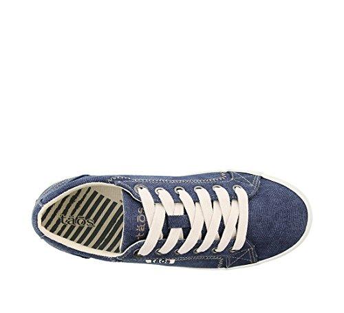 Blue Women's Fashion Star Sneaker Wash Footwear Canvas Taos BnaRvx1n