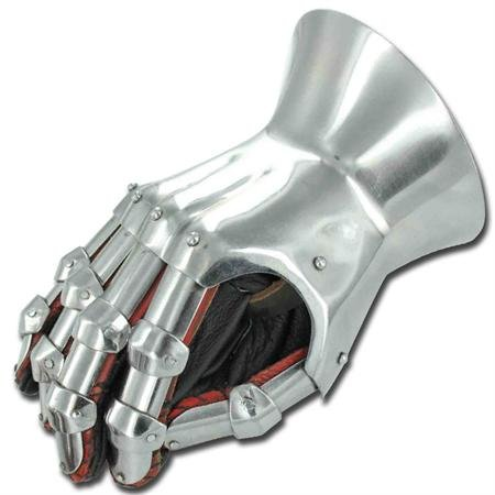 Medieval Renaissance Functional Hourglass Gauntlets Set by My Best Collecstion (Image #1)