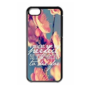 LJF phone case Bible Verse Custom Cover Case for Iphone 5C,diy phone case ygtg620373