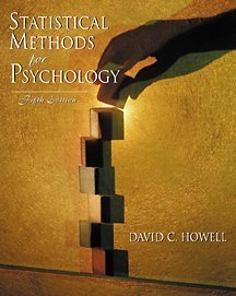 Statistical Methods for Psychology (with CD-ROM)
