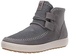 ECCO Women's Soft 7 Tred Ankle Chukka Boot, Titanium/Titanium, 42 M EU (11-11.5 US)