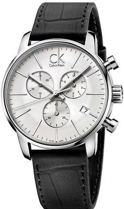 Calvin Klein K2G271C6 43mm Stainless Steel Case Crocodile Mineral Men's Watch