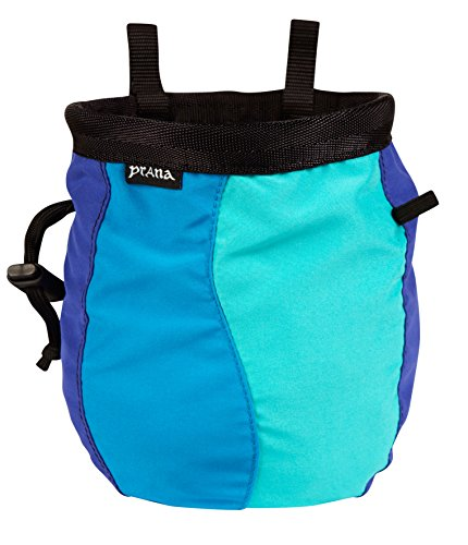 prAna Geo Chalk Bag with Belt, Mystic, One Size (Prana Chalk Bag)