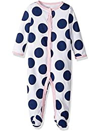 "Carter's Baby Girls' ""Oversized Polka"" Footed Coverall"