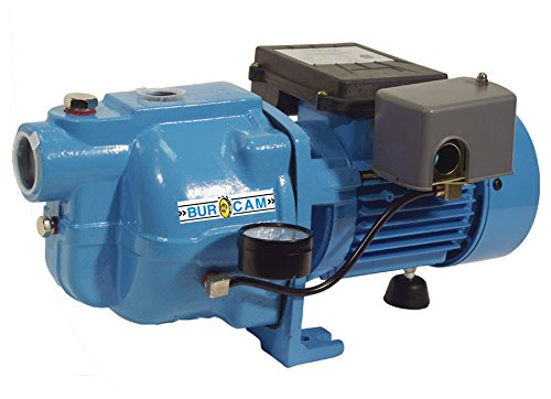 BurCam 503121S S.W. Cast Iron Jet Pump, 1/2 hp, 115V/230V ()