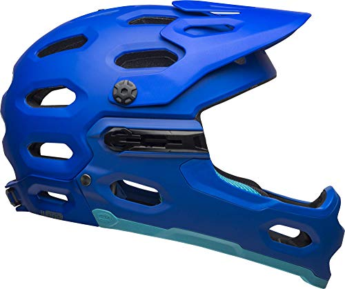 Bell Super 3R MIPS Adult MTB Bike Helmet (Matte Blues (2019), Medium) (Best Mtb Bikes 2019)
