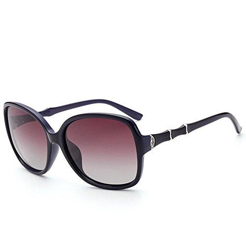 sol polarizadas sol de Shop con de Gafas anti gafas personalidad 6 de gafas de montura con gafas de Gafas Uno diamante de polarizadas UV sol sol sol 0Ovw0q