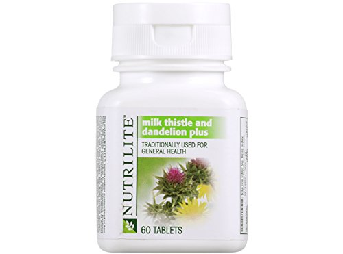 5 x Amway Nutrilite Milk Thistle and Dandelion Plus ( 60 tab ) by Amway