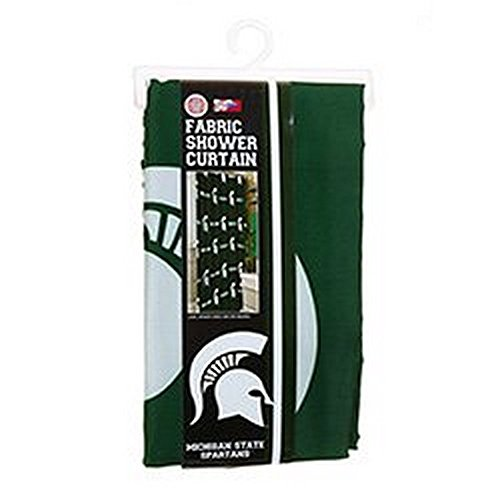 Michigan State Spartans Shower Curtain (NCAA Licensed 72