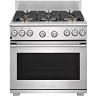 Electrolux E36DF76TP 36 Inch Wide 6.4 Cu. Ft. Dual-Fuel Freestanding Range with, Stainless Steel
